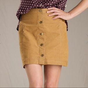Toad&Co Corduroy Skirt